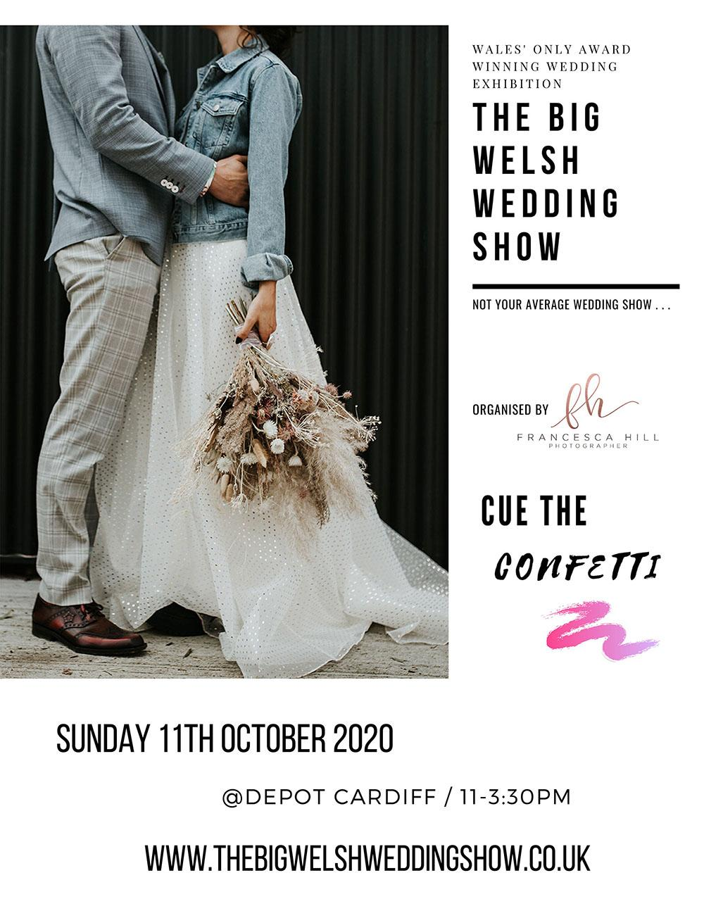 Wedding fair Cardiff on October 11th At Depot